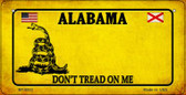 Alabama Do Not Tread Wholesale Novelty Bicycle Plate BP-8833