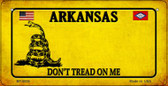 Arkansas Do Not Tread Wholesale Novelty Bicycle Plate BP-8836