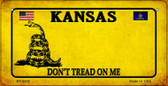Kansas Do Not Tread Wholesale Novelty Bicycle Plate BP-8848