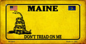 Maine Do Not Tread Wholesale Novelty Bicycle Plate BP-8851