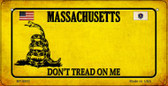 Massachusetts Do Not Tread Wholesale Novelty Bicycle Plate BP-8853