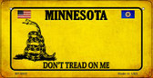 Minnesota Do Not Tread Wholesale Novelty Bicycle Plate BP-8855