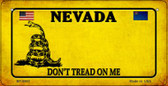 Nevada Do Not Tread Wholesale Novelty Bicycle Plate BP-8860