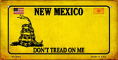 New Mexico Do Not Tread Wholesale Novelty Bicycle Plate BP-8863