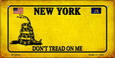 New York Do Not Tread Wholesale Novelty Bicycle Plate BP-8864