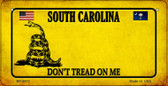 South Carolina Do Not Tread Wholesale Novelty Bicycle Plate BP-8872