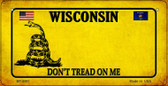 Wisconsin Do Not Tread Wholesale Novelty Bicycle Plate BP-8881