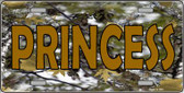 Princess Camouflage Wholesale Metal Novelty License Plate LP-3939