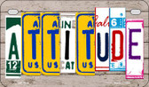 Attitude Plate Art Wholesale Novelty Motorcycle Plate MP-7846
