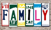 Family Plate Art Wholesale Novelty Motorcycle Plate MP-7848