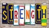 Strength Plate Art Wholesale Novelty Motorcycle Plate MP-7904
