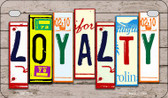 Loyalty Plate Art Wholesale Novelty Motorcycle Plate MP-7906