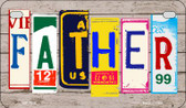 Father Plate Art Wholesale Novelty Motorcycle Plate MP-7908