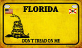 Florida Do Not Tread Wholesale Novelty Motorcycle Plate MP-8841