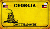 Georgia Do Not Tread Wholesale Novelty Motorcycle Plate MP-8842