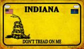 Indiana Do Not Tread Wholesale Novelty Motorcycle Plate MP-8846