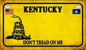 Kentucky Do Not Tread Wholesale Novelty Motorcycle Plate MP-8849