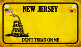 New Jersey Do Not Tread Wholesale Novelty Motorcycle Plate MP-8862