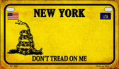 New York Do Not Tread Wholesale Novelty Motorcycle Plate MP-8864
