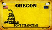 Oregon Do Not Tread Wholesale Novelty Motorcycle Plate MP-8869