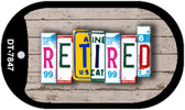 Retired Plate Art Wholesale Dog Tag Necklace DT-7847