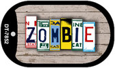 Zombie Plate Art Wholesale Dog Tag Necklace DT-7852