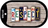 Respect Plate Art Wholesale Dog Tag Necklace DT-7905