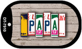 Papa Plate Art Wholesale Dog Tag Necklace DT-7910