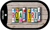 Road Trip Plate Art Wholesale Dog Tag Necklace DT-7951