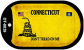 Connecticut Do Not Tread Wholesale Dog Tag Necklace DT-8839