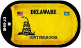 Delaware Do Not Tread Wholesale Dog Tag Necklace DT-8840