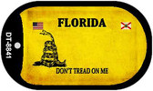 Florida Do Not Tread Wholesale Dog Tag Necklace DT-8841