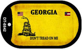 Georgia Do Not Tread Wholesale Dog Tag Necklace DT-8842