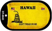 Hawaii Do Not Tread Wholesale Dog Tag Necklace DT-8843