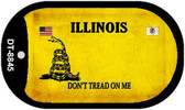 Illinois Do Not Tread Wholesale Dog Tag Necklace DT-8845