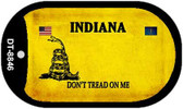 Indiana Do Not Tread Wholesale Dog Tag Necklace DT-8846