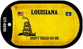 Louisiana Do Not Tread Wholesale Dog Tag Necklace DT-8850