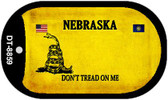 Nebraska Do Not Tread Wholesale Dog Tag Necklace DT-8859