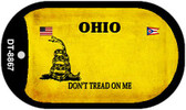 Ohio Do Not Tread Wholesale Dog Tag Necklace DT-8867