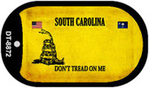 South Carolina Do Not Tread Wholesale Dog Tag Necklace DT-8872