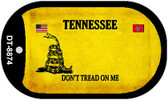 Tennessee Do Not Tread Wholesale Dog Tag Necklace DT-8874