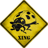 Ladybug Xing Novelty Wholesale Crossing Sign CX-313
