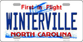 Winterville North Carolina Wholesale State License Plate LP-11743