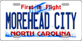 Morehead City North Carolina Wholesale State License Plate LP-11748