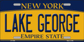 Lake George New York Wholesale Novelty License Plate LP-11708