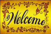 Welcome Grape Vines Wholesale Novelty Large Parking Sign LGP-1735