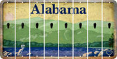Alabama APOSTROPHE Cut License Plate Strips (Set of 8) LPS-AL1-038