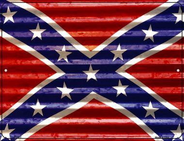 Confederate Flag Wholesale Novelty Parking Sign P-2307