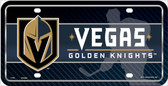Las Vegas Golden Knights Deluxe Novelty Wholesale License Plate LP-5621