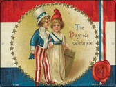 The Day We Celebrate Vintage Poster Wholesale Parking Sign P-1869